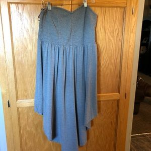 2X Torrid Strapless Dress